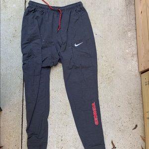 Georgia Nike Joggers Size M